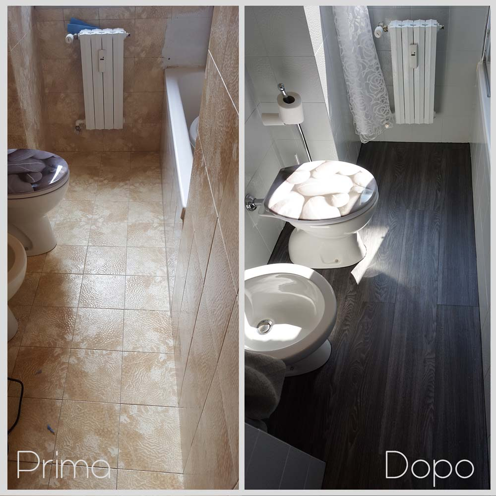 Idee per rifare il bagno di casa beautiful vetrate stile - Rifare bagno costo ...