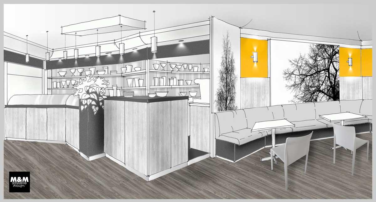Progettazione Dinterni Fai Da Te : Il progetto di riqualificazione il ruolo dell interior designer