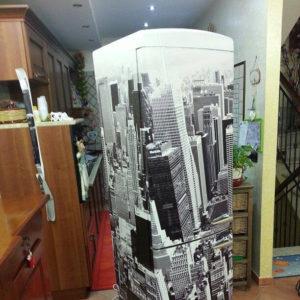 Wrapping frigorifero