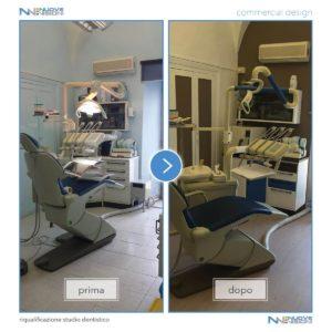 Progetto studio dentistico con pellicole 3M DI-NOC