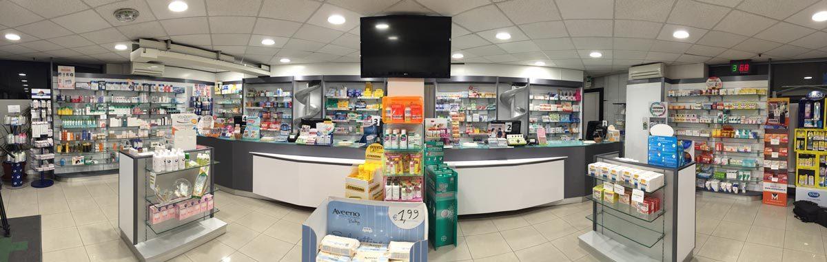 Interior design e restyling locali for Arredamenti farmacie