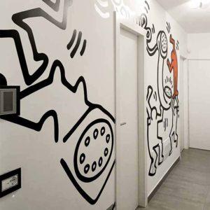 Carta da Parati Personalizzata Keith Haring