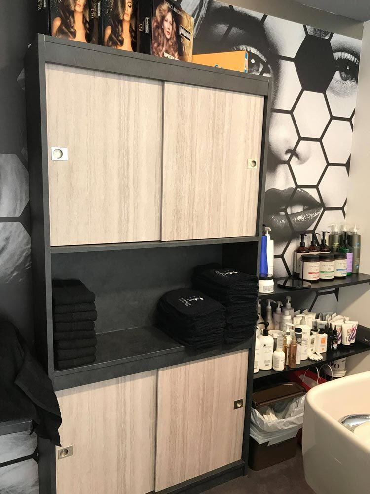 Progetto Restyling Parruccheria
