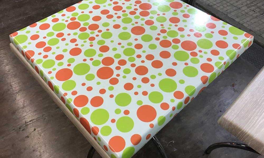 Tavolino prima del rivestimento