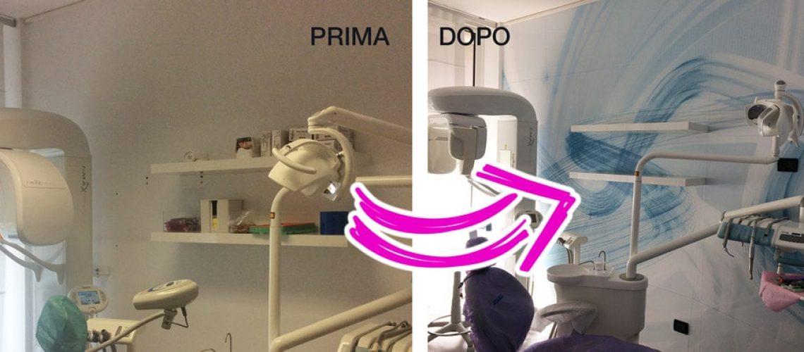 Restyling Sala attesa studio dentistico